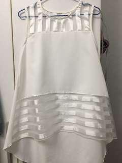 🚚 韓國韓版雪紡無袖上衣