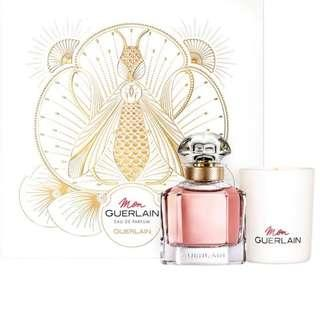 (50%discounted) limited edition gift set Guerlain Mon EDP + Scented candle