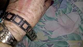 Vintage retro sterling  bracelet