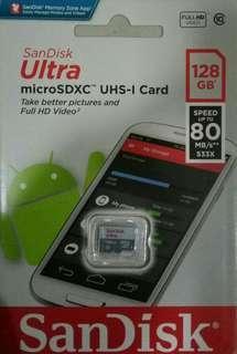 包郵 Sandisk 128G 128GB micro sd / tf card / 手機記憶卡