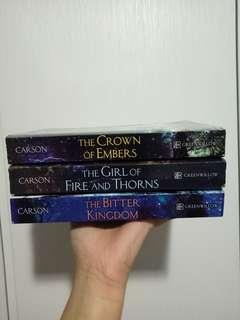 The Girl of Fire and Thorns Trilogy by Rae Carson