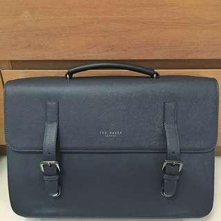 Navy Blue Ted Baker Mens Briefcase #SpringCleanAndCarousell50