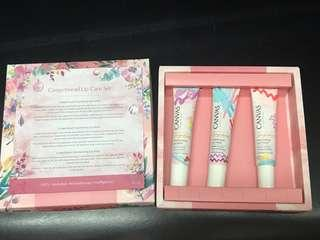 CANVAS GINGERBREAD LIP CARE SET