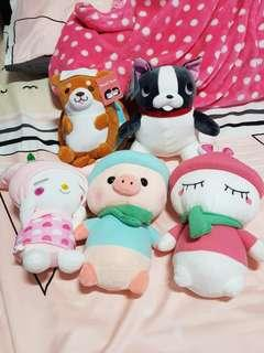 🚚 All in one stuffed/plushies toy