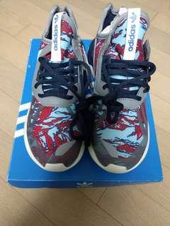 "Adidas Originals B35637 Tubular Runner ""Red Seaweed Camo"""