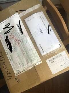 到一批日本邮包