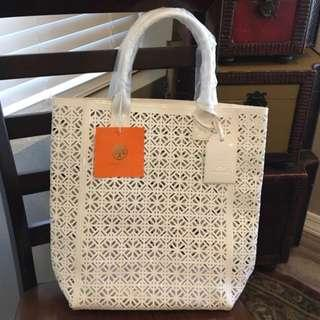 30f3b95d54ed Brand new Tory Burch Perforated Tote bag