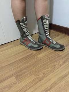 cAmper high cut boots