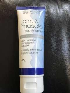 Younger secrets joint & muscle repair cream
