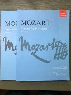 Music Books (Mozart, Beethoven, Handel, Debussy, Cramer, Rachmaninoff)