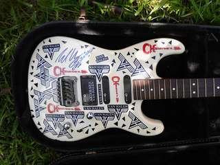 Charvel, Van Halen autographed
