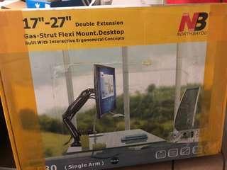 Gas Strut Flexi Mount for Desktop Monitor