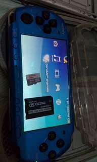 Psp 3000 slim 16gb with games
