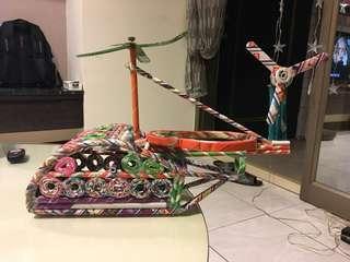 🚚 手作玩具 直升機 🚁