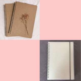 🚚 plain minimalist notebooks preorder