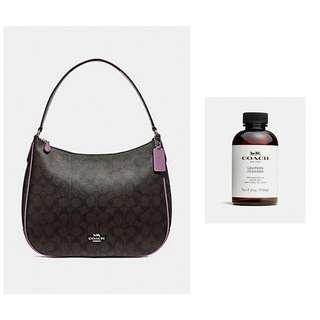 🚚 Coach Signature Shoulder Bag and Leather Cleaner
