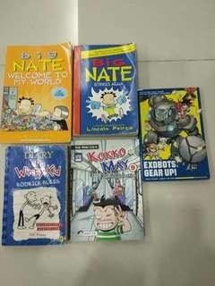 Big Nate, Diary of Wimpy Kid, Kokko and May, Exobots