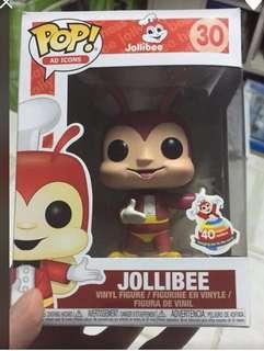 Jollibee Funko POP with sticker