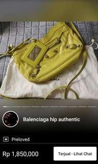 sold balenciaga - testimoni sold item