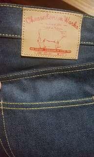 "Cheese Denim selvedge jeans 34"" (Levis, Lee, Tarik Jeans)"