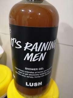 Lush it's raining man