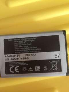 Samsung phone battery