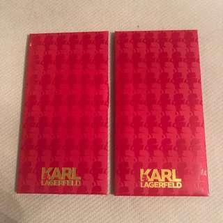 Karl Lagerfeld 利是封 (12個)