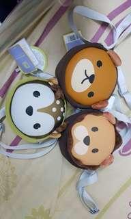 Cute BB Bag - Lion pouch, bear pouch, deer pouch