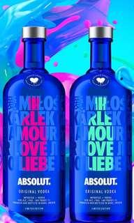Absolute Vodka Limited Absolute Drop 1L
