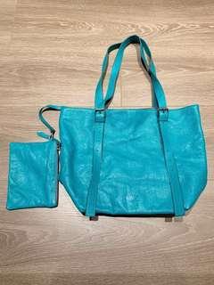 $7500 Martin Margiela MM6 leather tote bag purse NEW garçons yohji Ann demeulemeester