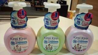(3 bot) Kirei Kirei 250ml anti bacterial foaming hand soap