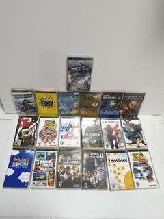 Sony Playstation  PSP games lot