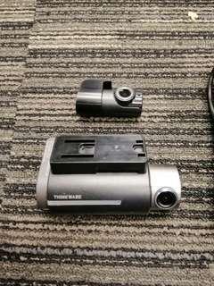THINKWARE DASH CAM F750 1080p Full HD & Full HD 2CH