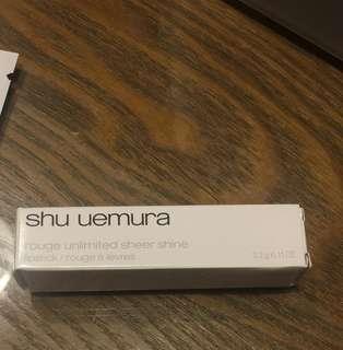 Shu uemura juicy peach唇膏