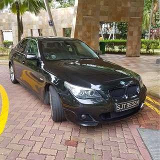 BMW car rental 520i 523i 525i 5 series