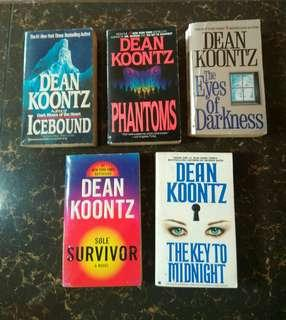 Dean Koontz Bookbundle