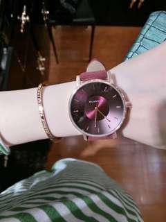 代PO 義大利 手錶 KLASSE14 市價8千 精品 禮物 情人節 母親節 生日 精品手錶 精品錶 玫瑰金 香檳葡萄 香檳色