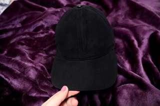 H&m black suede cap