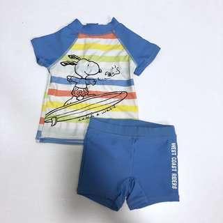 🚚 3-6M Snoopy Swimwear