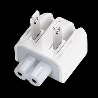 Magsafe US 2 Prong Pin Wall Plug Adapter Duckhead Macbook iPad Charger