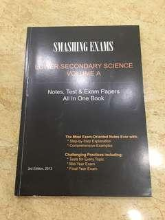 Smashing Exams Science Guide Book Volume A