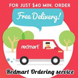 🚚 Redmart ordering services