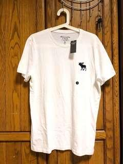 🚚 全新🇺🇸自帶!Abercrombie and Fitch A&F T-shirt 麋鹿 短T