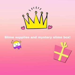 🚚 Slime supplies and mystery slime box!