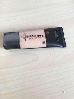 🚚 L'Oreal Infallible Pro-matte Liquid Foundation New