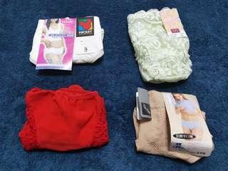 華歌爾思薇爾專櫃蕾絲棉質絲質女性內褲
