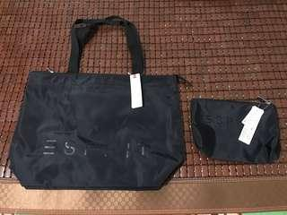 🚚 Tote Bag & cosmetic pouch