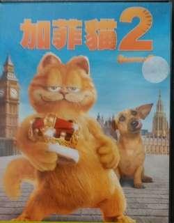 DVD 加菲貓2