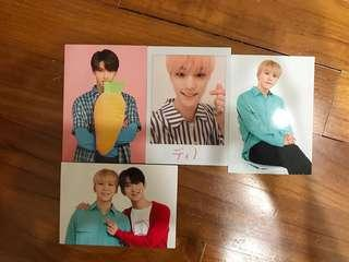 SEVENTEEN TRADING CARDS (CLEARING)