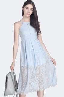 fayth francesca lace jumpsuit